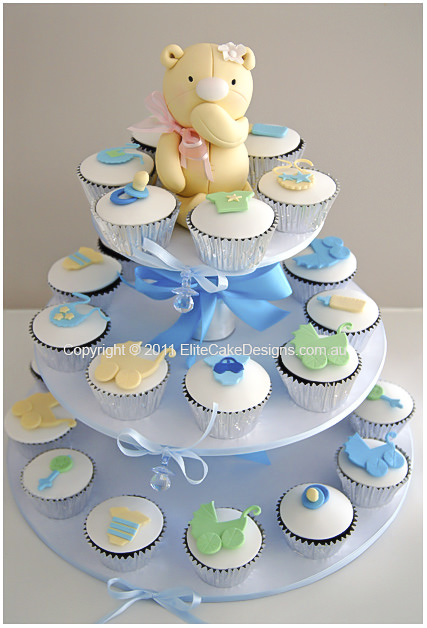 Baby Shower Christening cupcakes Sydney