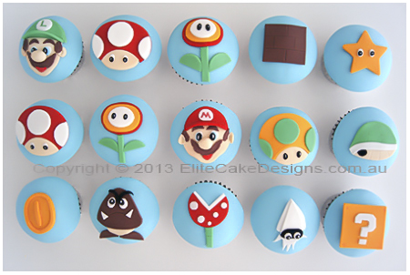 Super Mario cupcakes for kids