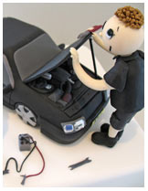 Mechanic Novelty Cake