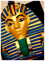 Pharaoh Tutankhamun Egyptian theme cake
