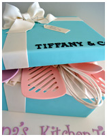 Tiffany Co Kitchen Tea Cake