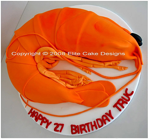 King Prawn Novelty Cakes Sydney 21st Birthday Cakes Novelty