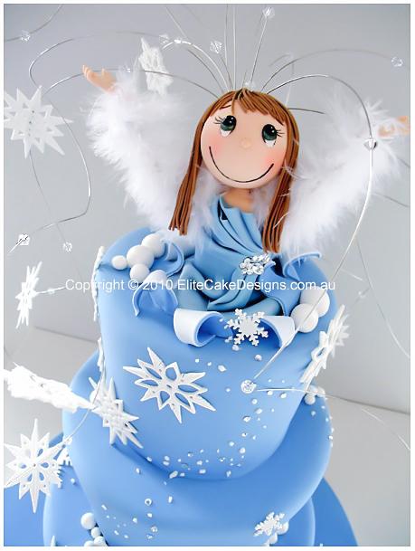 Winter Wonderland Animated Birthday Cake Novelty Cakes