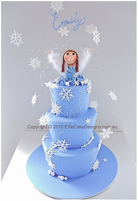 Winter Wonderland Novelty Birthday Cake