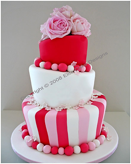 Fresh flower Wedding Cakes, Wedding Cake Designs, Madhatter Wedding ...